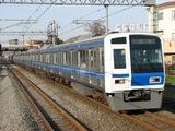 西武6103F試運転1219-武蔵藤沢1