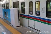 2020.3.11-西武新宿駅ホームドア,大開口部観光中間車時