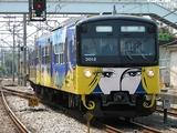 2009.5.1-デザイン電車となった3011F-仏子中線入線