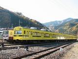 2009.11.23-秩鉄ありがとうフェスタ-展示車:リバイバルトレイン2種(1007F側*編成全体)