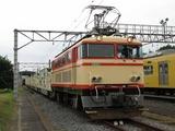 2007.9.1-南入曽基地電車夏まつり-E33とホキ6