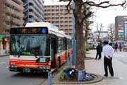 2017.4.8-ももクロ臨時バス-東武三郷9976号車,ふじみ野駅