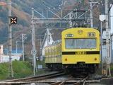 2009.11.23-波久礼を出発する1007F(*後撃ち)