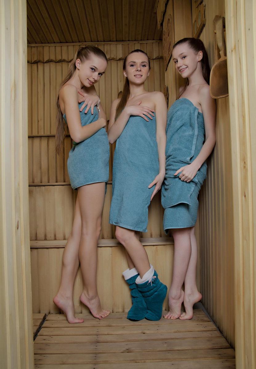 Sauna Teen Porn