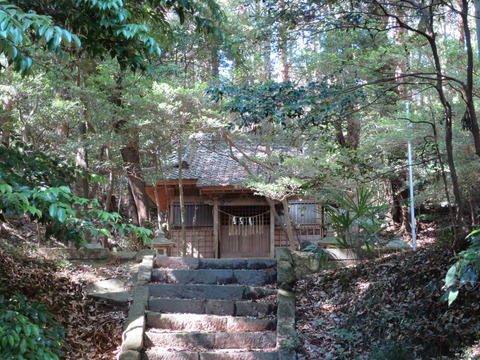 式内社・佐志能神社(さしのじんじゃ・柿岡)画像
