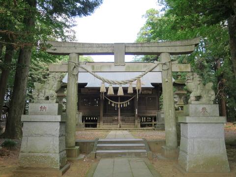 式内社・大前神社(おおまえじんじゃ)画像