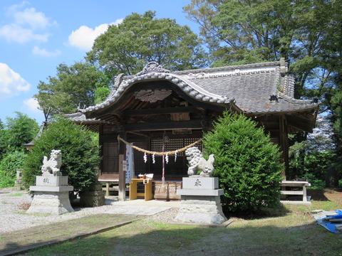式内社・網戸神社(あじとじんじゃ)画像