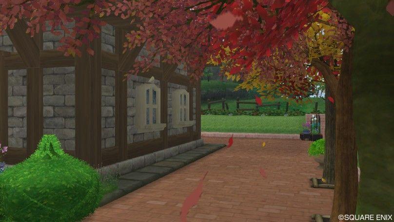 散る紅葉って、秋っぽいよね♪