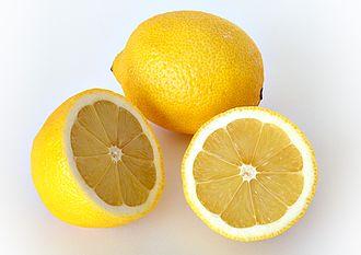 酸味:レモン