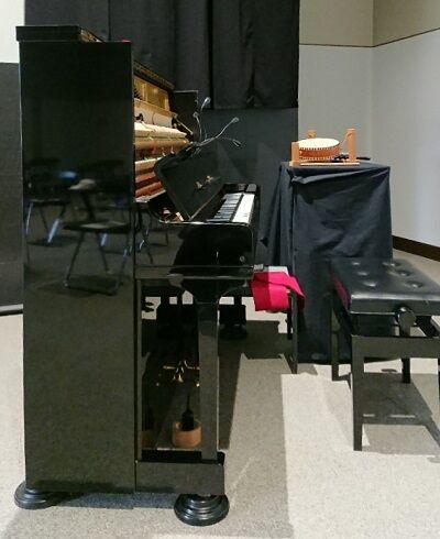 京都国立近代美術館のピアノ