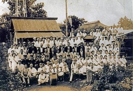 古里天王様慰問写真(1939年)