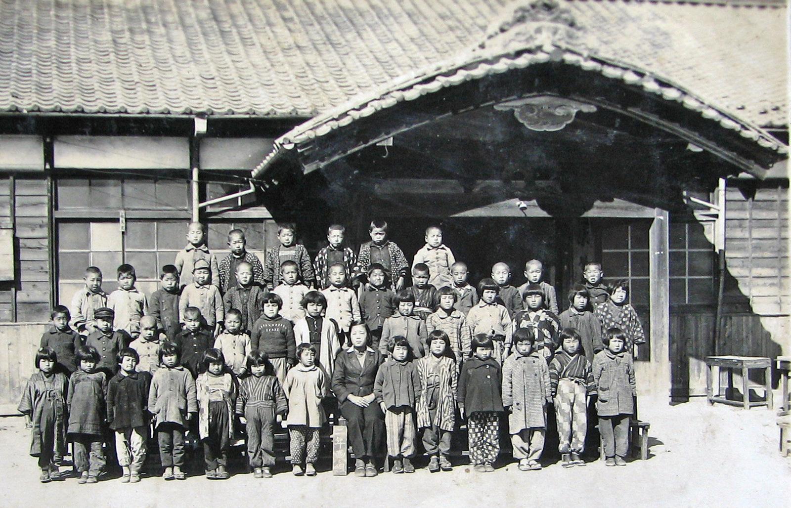 古い写真 七郷小学校4年生 1949年 : GO! GO! 嵐山 3