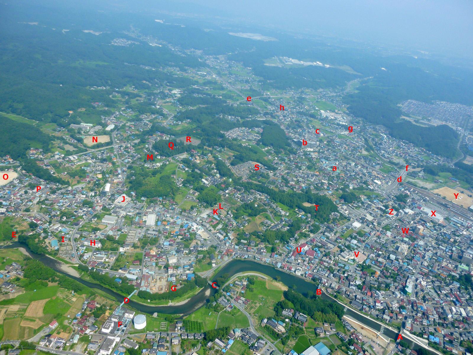 GO! GO! 嵐山 3 : 空から見た小川町