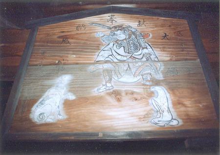 絵馬・日吉神社2web