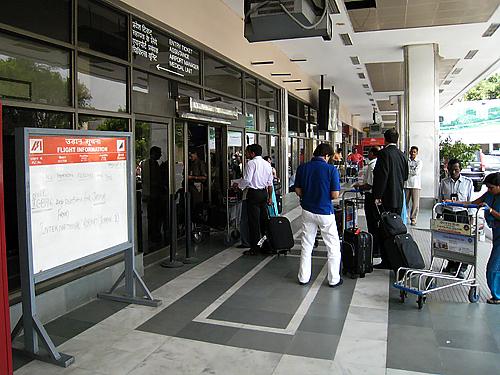 デリー空港(国内線ターミナル)