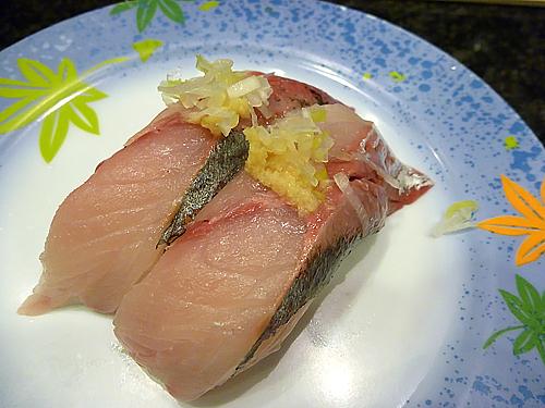 真アジ(金沢まいもん寿司)