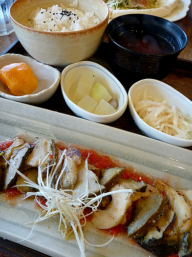 タカセ貝ステーキ(楽園の果実/来間島)