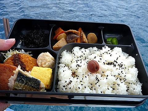 0720-126 昼食のお弁当(西表島)