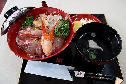能登丼(曽々木食堂)