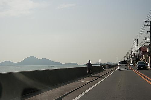 鞆の浦への道
