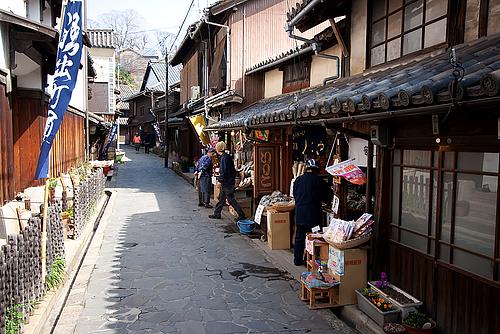 太田家住宅の通り