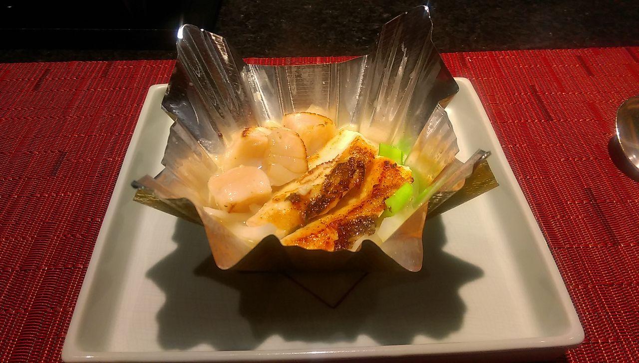 ホタテと鯛の鍋