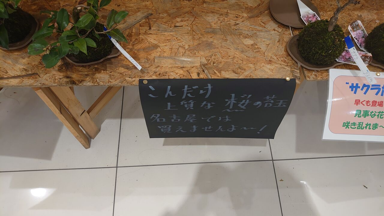 名古屋では買えないらしい