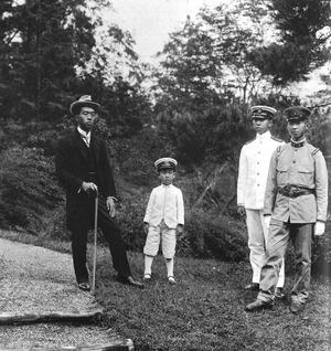 Emperor_Taisho's_sons_1921