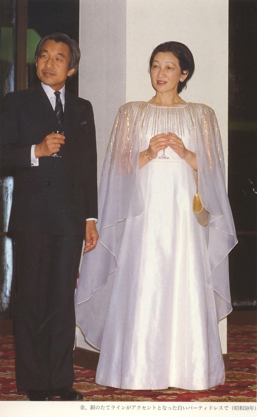 美智子様の皇太子妃時代の豪華なドレス  remmikkiのブログ