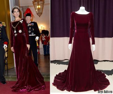 Crown-Princess-Mary-in-Birgit-Hallstein-gown