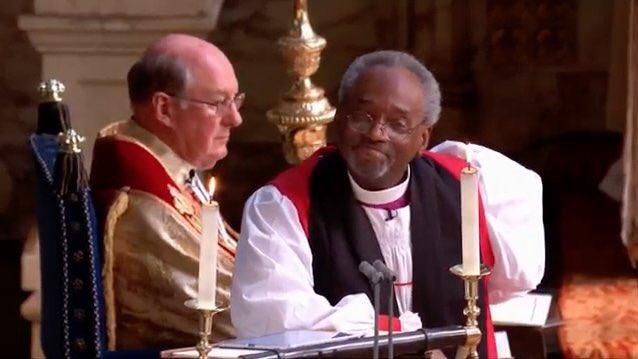 ハリー王子結婚式 マイケル・カリー米国聖公会総裁主教による「説教 ...
