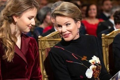 queen-mathilde-in-dries-van -noten-floral-gown-1