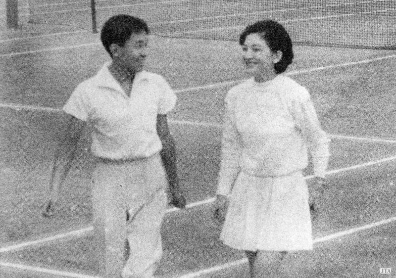 美智子様 テニス