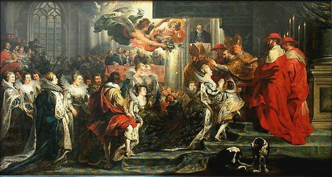 Coronation of Marie de' Medici-2