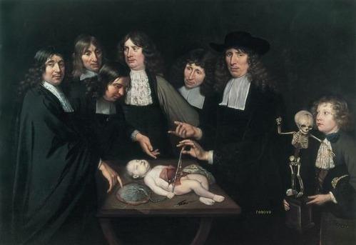 Anatomy lesson of Dr Frederik Ruysch | Jan van Neck