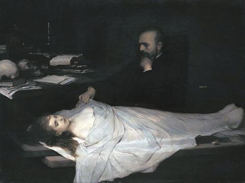 Der Anatom (The Anatomist) | Gabriel von Max