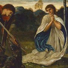The figh St George kills the dragon VI
