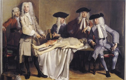Anatomische les van dr. Willem Roell