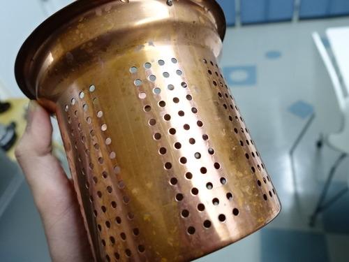 銅 排水口 水切りカゴ