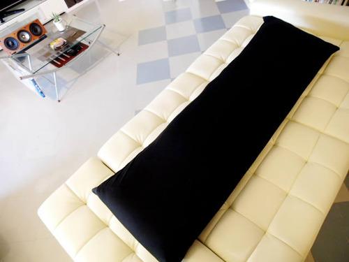 抱き枕本体とカバー黒