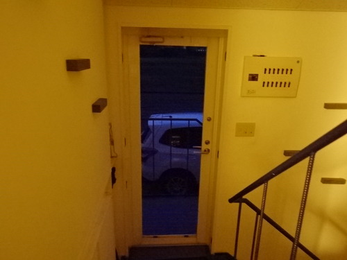 壊れたドア