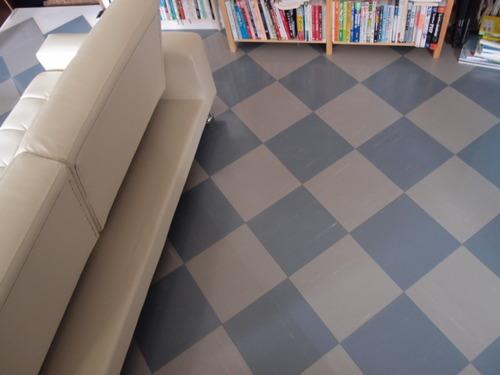 コンクリート床・タイル
