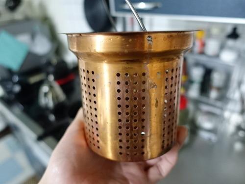 銅製水切りカゴ