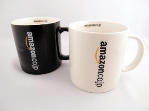 Amazonオリジナル マグカップ 右白