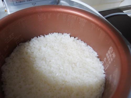 炊きたてのお米