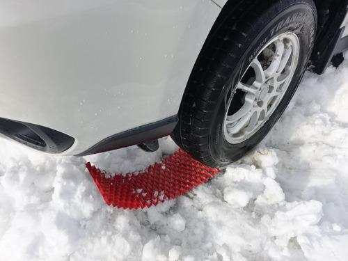 雪脱出プレート