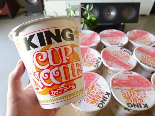 カップヌードル KING