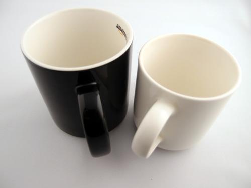 Amazonオリジナル マグカップ 大きさ比較