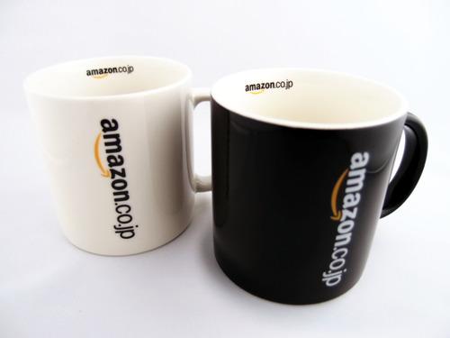 Amazonオリジナル マグカップ 白黒