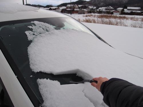 雪かき 車
